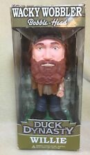 """DUCK DYNASTY~A&E~""""WILLIE""""~7""""~WACKY BOBBLE HEAD~FUNKO~LIMITED EDT COLLECTIBLE(NEW"""