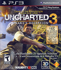 PS3 Uncharted 3 Drake's Deception Game of the Year Edition (PlayStation 3, Sony)