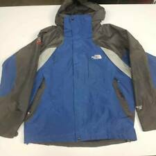 The North Face Gore Tex XCR Mens Hooded Jacket Blue Black Long Sleeves Lined M