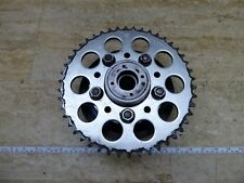 1982 Honda CB750SC Nighthawk H1508. rear sprocket and carrier