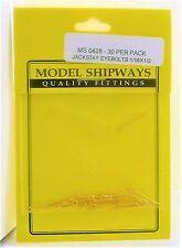 Model Shipways Fittings MS 0428 Jackstay Eyebolts 1/16 X 1/2  30 Per Pack. NEW