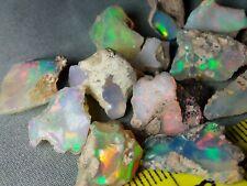 48 cts - Beautiful Opal Rough - Ethiopian - Multicolor Flash Fire