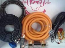 Kit cavi Auto completo Cavo RCA 0 AWG Ø 50 mm Portafusibile Alimentazione 50mm