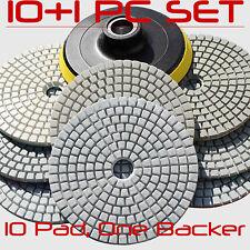 Diamond Polishing Pads Wet/Dry 5 Inch Kit For Granite Concrete Marble Polish