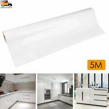 5M Möbelfolie Hochglanz Klebefolie Schrankfolie Küchenfolie Dekofolie Bad Küche