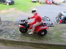 3x3 ATV WITH RIDER STOMPER~SCHAPER~LJN~RARE~HARD TO FIND!