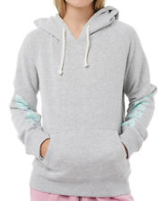 NEW + TAG BILLABONG GIRLS (8) ZEPHYR HOODIE JUMPER FLEECE PULLOVER GREY MARLE