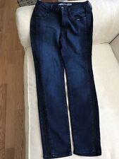 "Old Navy-Rock Star Tuxedo Jeans - Size 8 Reg-Blue Denim-inseam 29""-FREE SHIPPING"