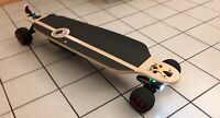 ALL TERRAIN OFF ROAD Electric Skateboard Dual 500w Hubs WITH Swappable Battery