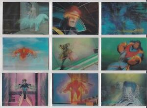 MARVEL MOTION BASE / BASIC SET 30  CARDS BY SKYBOX. 1996