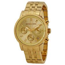 Michael Kors Ritz Chronograph Gold-Tone Ladies Watch MK5676
