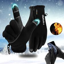 Touch Screen Gloves Warm Ski Windproof Finger Work Winter Motorcycle Men Women