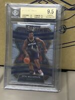 2019-20 Select Basketball Zion Williamson ROOKIE RC #1 BGS 9.5 GEM MINT PELICANS