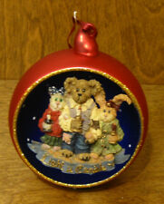 Boyds Resin Ornament #25723 Chandler, Constance, and Felicity.A Brighter World