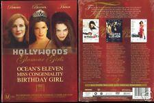 MISS CONGENIALITY OCEANS 11 BIRTHDAY GIRL JULIA ROBERTS NEW 3 DVD BOXED SET