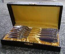 Besteck 90 er Silber Auflage 6 Kuchengabeln