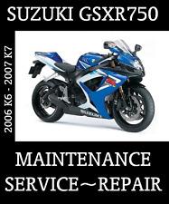 New listing 2006 Suzuki Gsx-R750 Service Repair Manual Gsxr 750 Complete Maintenence Rebuild