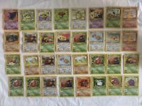 1st Edition Pokemon Cards Lot 1999 WOTC Fossil And Jungle NM (32)