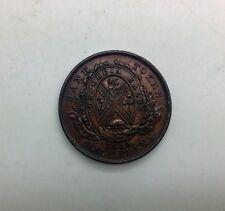 1844 1/2 Penny Token Very Sharp Grade  Token Charlton# PC1B3 BR527