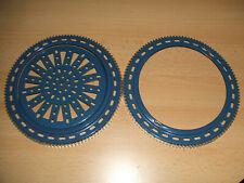 Märklin Metallbaukasten 2 x großer Ring 2 x großer Zahnkranz + 1 großes Rad