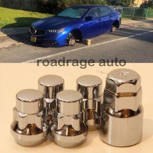 For Honda Toyota Tuner Wheel Lock Nuts 12x1.5 Acorn Locking Bolts x4 Cone Seat