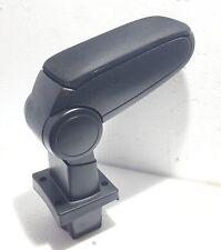 SKODA Octavia mk2 2004-2012 Centro Bracciolo Tessuto nero di alta qualità