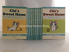 The Complete Chi's Sweet Home  (Vol.3-12) English Manga Graphic Novels  NEW