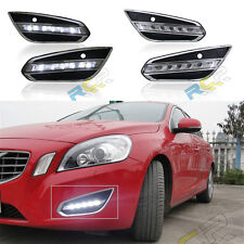 LED Daytime Running Lights DRL LED Fog Lamp for VOLVO S60 2009~13 1:1 replace