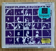 Deep Purple / In Concert  RARE 2xcd album Japan  1990 TECP-448431~2 picture cd's