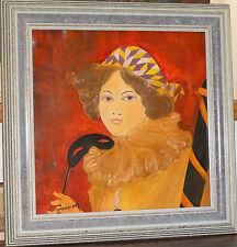 Ararat Petrossian tableau peinture symbolisme bal à Venise très bel état