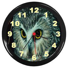 OwlRoom Decor Wall Clock