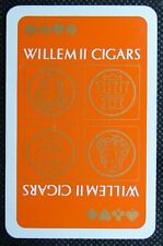 1 x playing card single swap Willem II Cigars RC 51