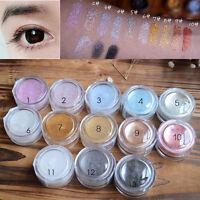 Glitter Powder Eyeshadow Makeup Cosmetic Pigment Eye Shadow Makeup Set 13Colors
