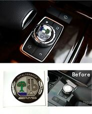 AMG Badge Multiplayer Control Button Cap Sticker Decal