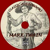 MARK TWAIN 30 UNABRIDGED CLASSIC NOVELS AUDIO BOOKS NEW MP3 PC-DVD TOM SAWYER