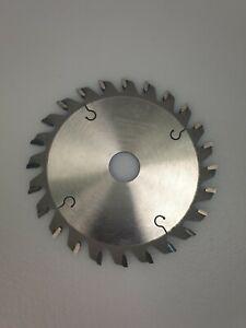 German Circular CONICAL SCORING SAW BLADE 120 X 3.1-4.2/2.0 X 20 Z24 CON FLAT