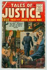 Tales of Justice #61 Atlas August 1956 G/VG
