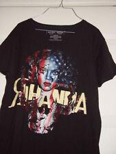 Rihanna Black T-Shirt Size Medium Hard Rock NorthField Park Artist