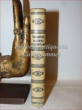 MATEMATICA: I. Todhunter, ELEMENTI DI ALGEBRA 1873 Pellerano Onofrio Porcelli 2a