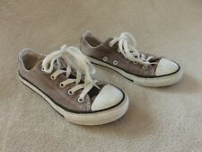 BASKET BASSES GRIS ♥ CONVERSE ALL STAR   ♥  TAILLE 32 TTBE +++ ☺