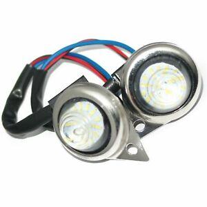 For Royal Enfield Red LED Light Pilot Lamp Classic Electra 140223 ECs