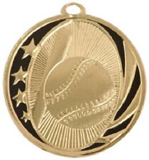 "2"" MidNite Star Baseball/Softball Medal Personalized Free"