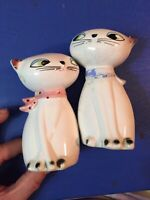 Vintage Holt Howard Cozy Kittens Salt and Pepper Shakers Siamese Cats 1961