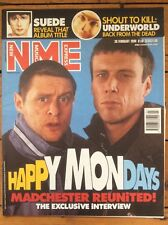 NME New Musical Express 20/2/99 Happy Mondays, Underworld, Blur Poster