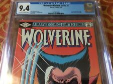WOLVERINE Limited Series 1 1982 CGC 9.4 Chris Claremont Frank Miller not 9.8