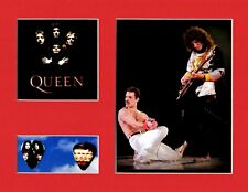 Freddie Mercury Queen Matted Picture Guitar Pick Set We Will Rock You