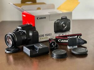 Canon 1500D + 18-55mm Lens + Original Accessories (TLC004)