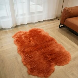 90x140cm 8 colors Australian Sheepskin Rug Quilt 100% Natural Fur Fluffy Mat