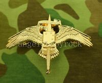 GOLDEN US MARINE RAIDER INSIGNIA USMC FORCES SPECIAL OPERATIONS BADGE PIN-0414