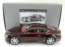 Paragon 1/18 Scale PA-98221R Bentley Continental GT Convertible 16 Burgundy